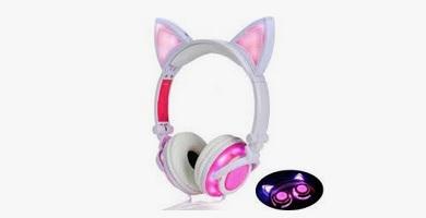 mejores auriculares orejas de gato